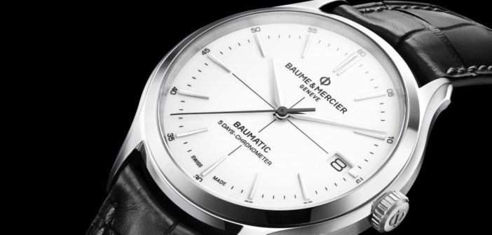 SIHH 2018: Baume & Mercier Clifton Baumatic 5 Days