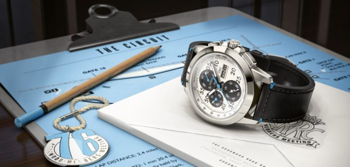 """IWC Ingenieur Chronograph Sport Edition """"76th Members' Meeting at Goodwood"""""""