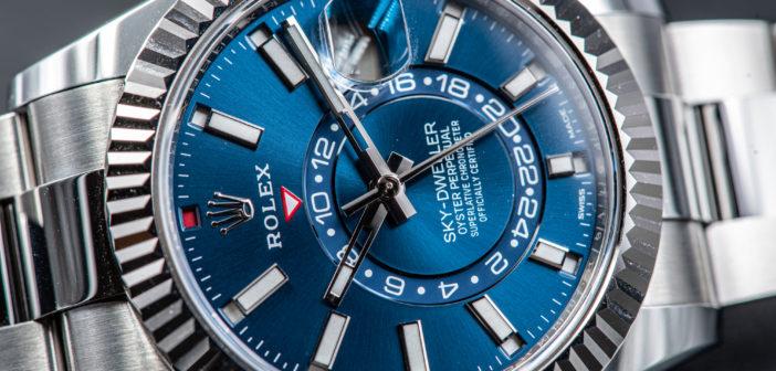 Обзор Rolex Sky-Dweller Blue или Выше неба…
