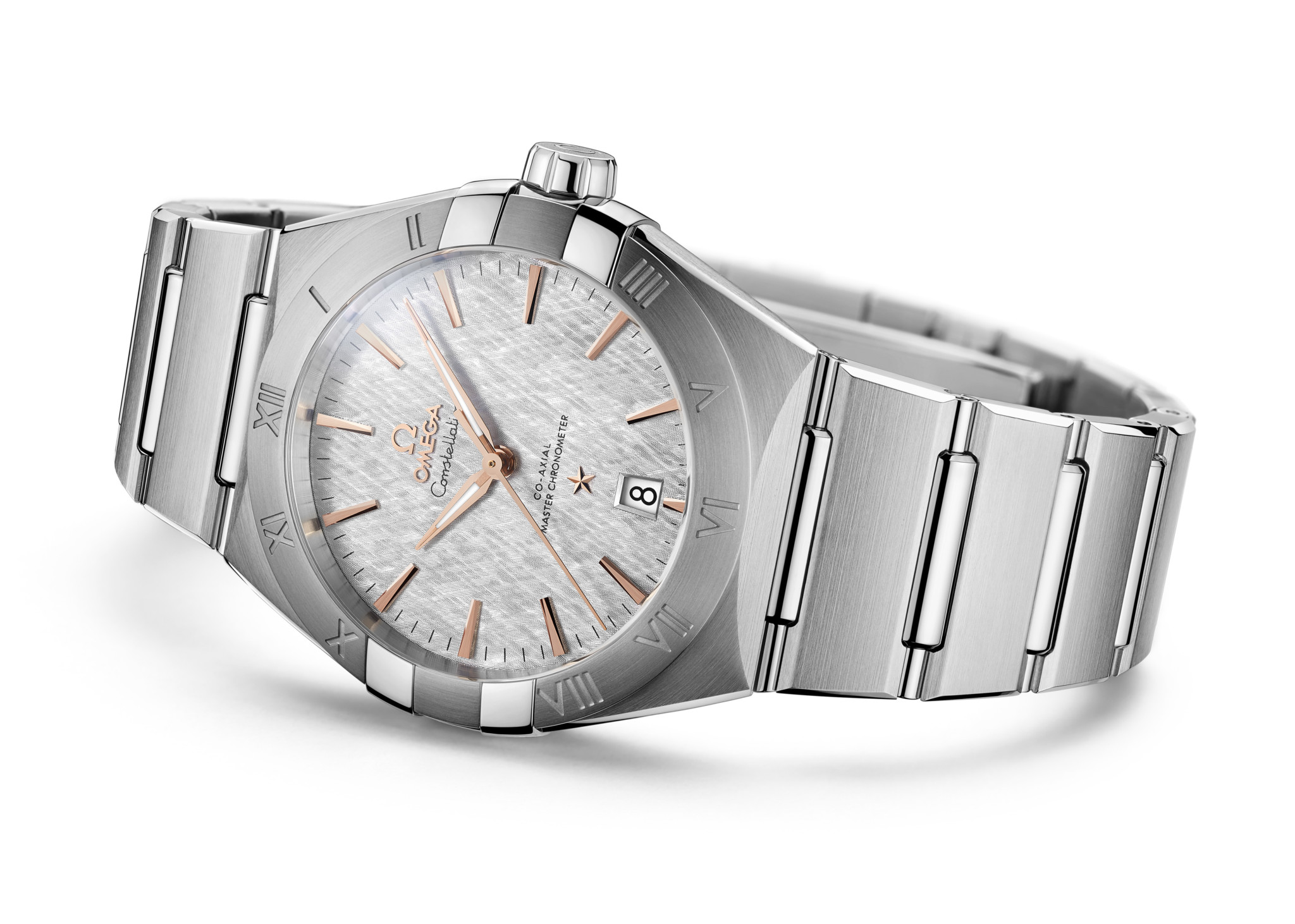 Omega Constellation 2020 Rose Gold and Stainless Steel