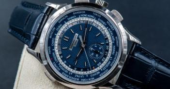 Patek Philippe World Time Chronograph Ref. 5930G или Весь мир на запястье