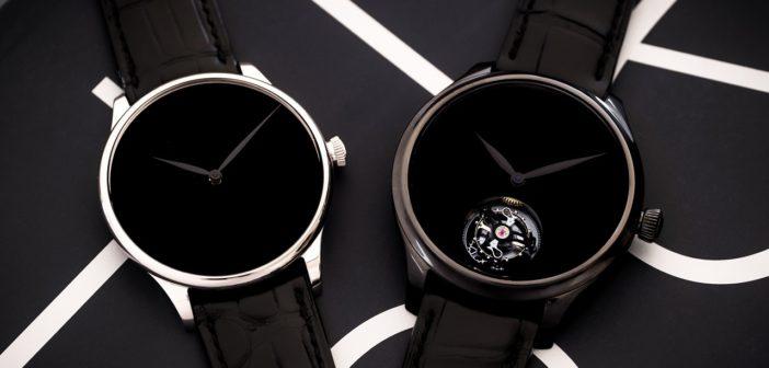 H. Moser & Cie. Venturer Vantablack Black Hands