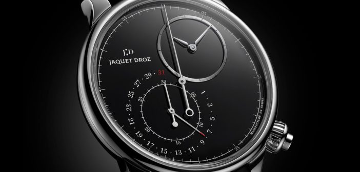 Jaquet Droz Grande Seconde Off-Centered Chronograph Black Onyx