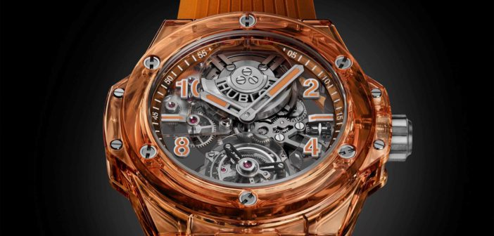 LVMH Watch Week 2021. Hublot Big Bang Tourbillon Automatic