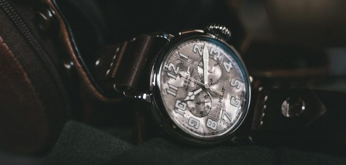 LVMH Watch Week 2021. Zenith Pilot Type 20 Chronograph Silver