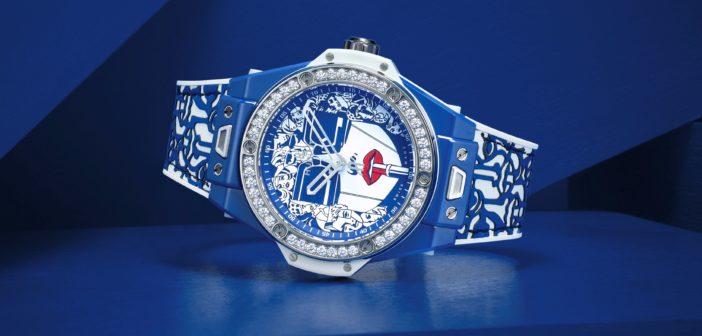 Hublot Big Bang One Click Marc Ferrero Ceramic Blue