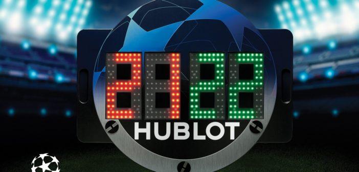 Hublot и вклад в европейский футбол